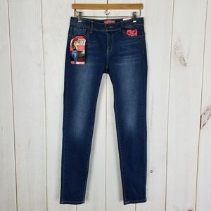 """Wax Jeans """"Butt I Love You"""" Bootie Enhance Jeans 9"""